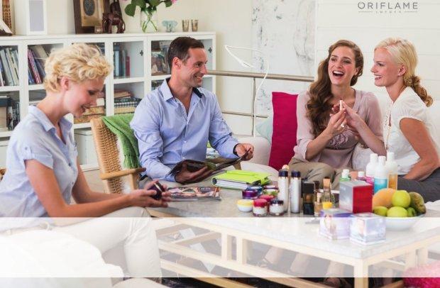 Dezvolta-ti Afacerea in parteneriat cu Oriflame